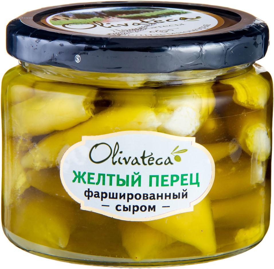 Перец Olivateca Желтый фаршированный сыром 290г