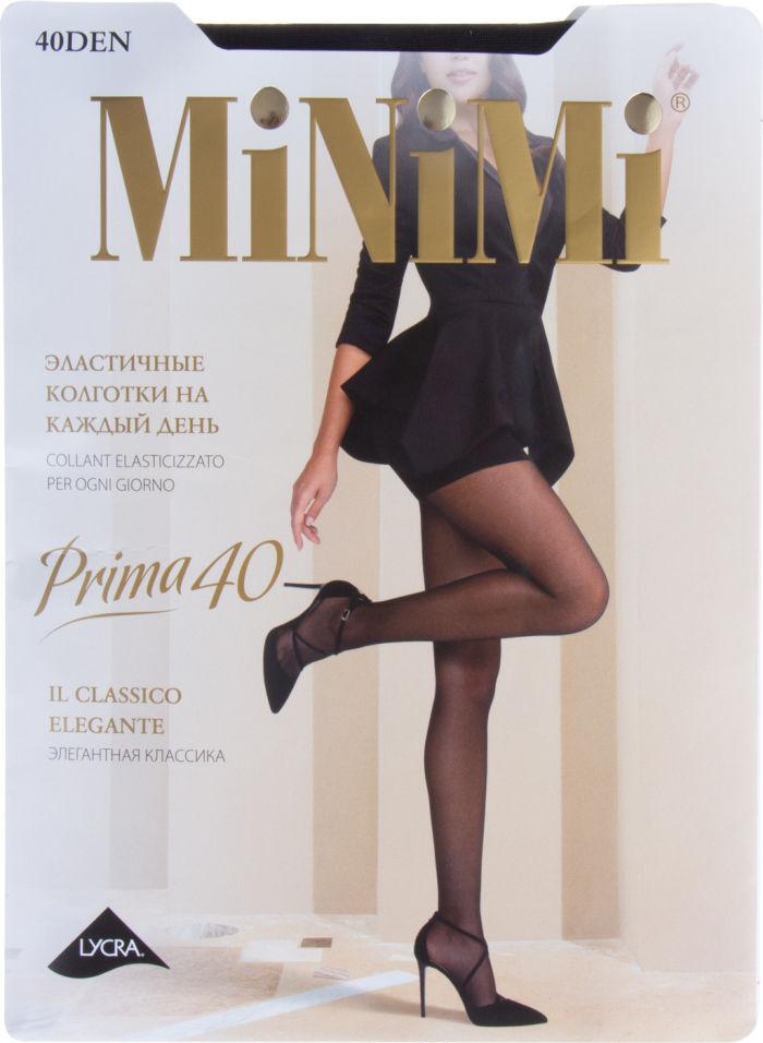 Колготки Minimi Prima 40 Nero Черные Размер 2