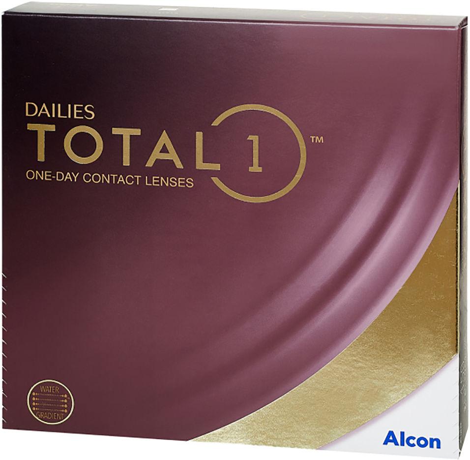 Контактные линзы Dailies Total 1 Однодневные -6.00/14.1/8.5 90шт
