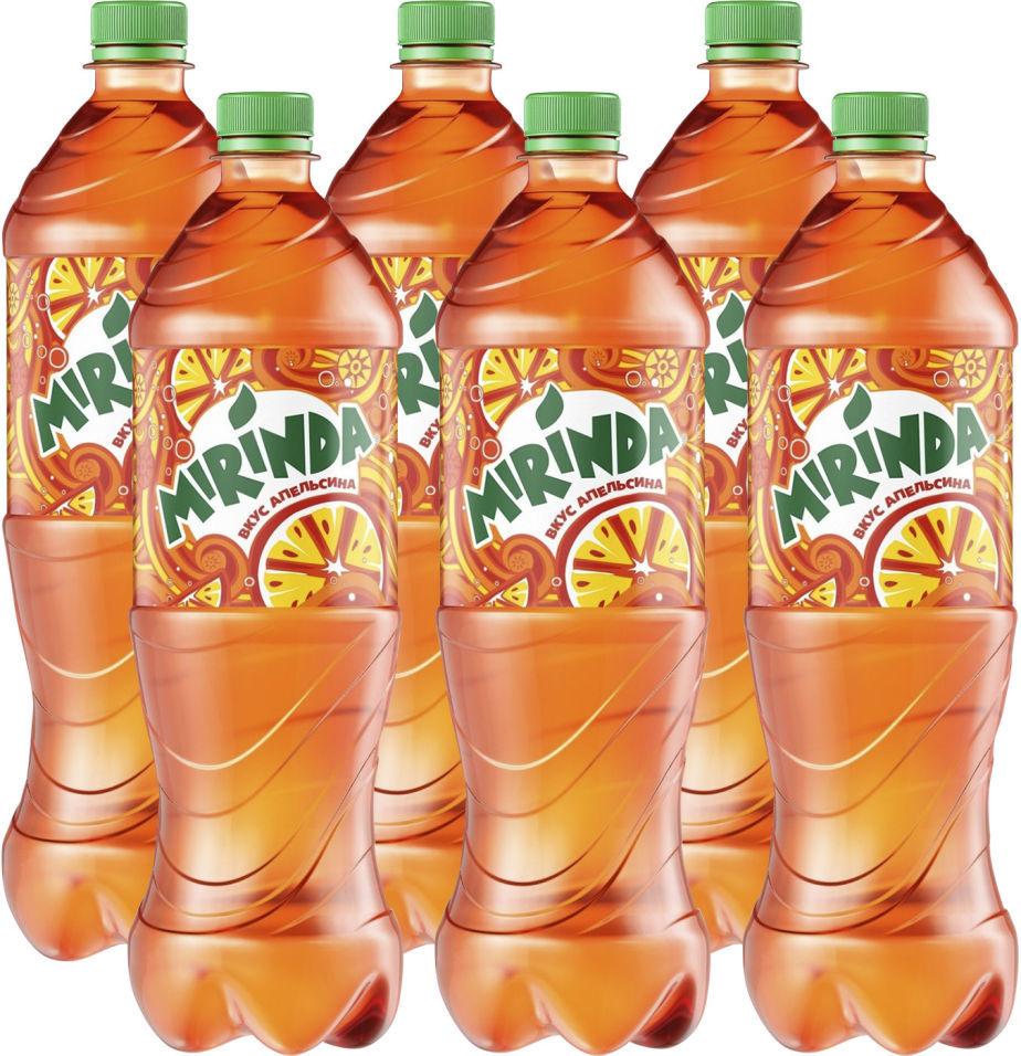 Напиток Mirinda Апельсин 1л (упаковка 6 шт.)