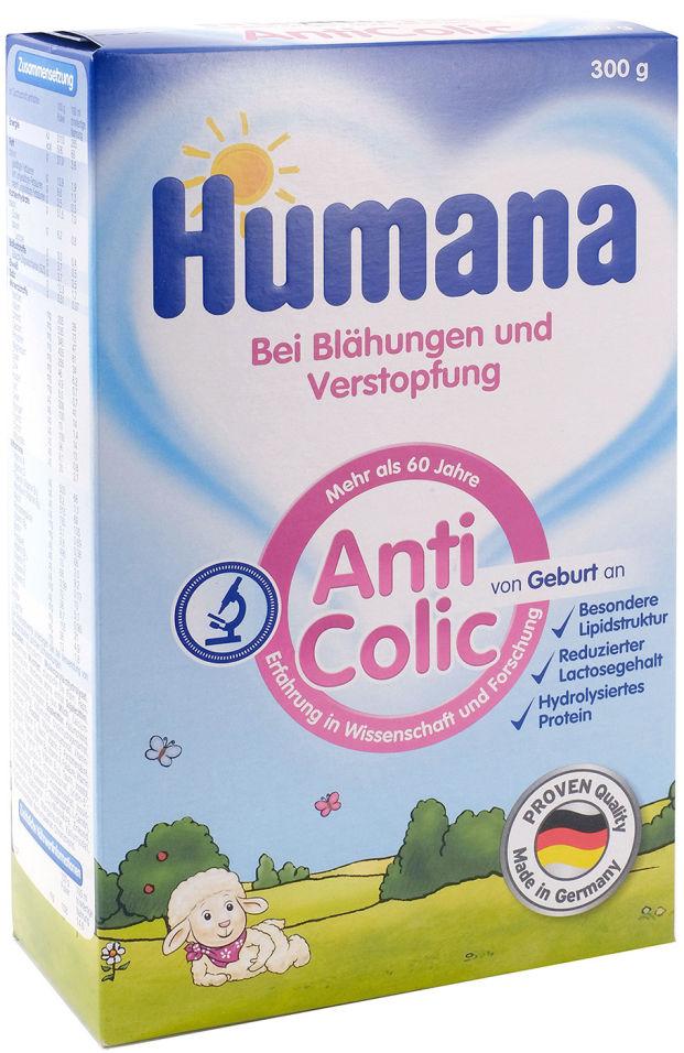 Смесь Humana Anticolic Молочная с 0 месяцев 300г (упаковка 3 шт.)