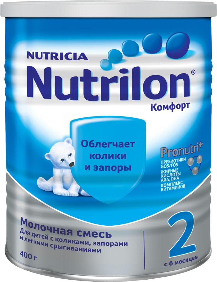 Смесь Nutrilon Комфорт 2 С 6 месяцев 400г