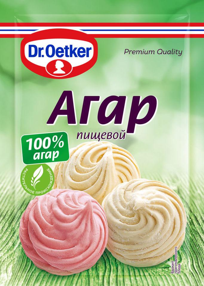 Агар пищевой Dr.Oetker 7г