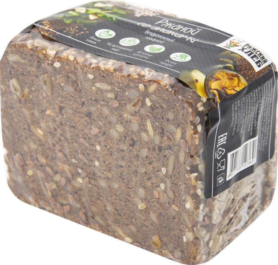 Хлеб Рижский хлеб Ржаной со злаками 300г
