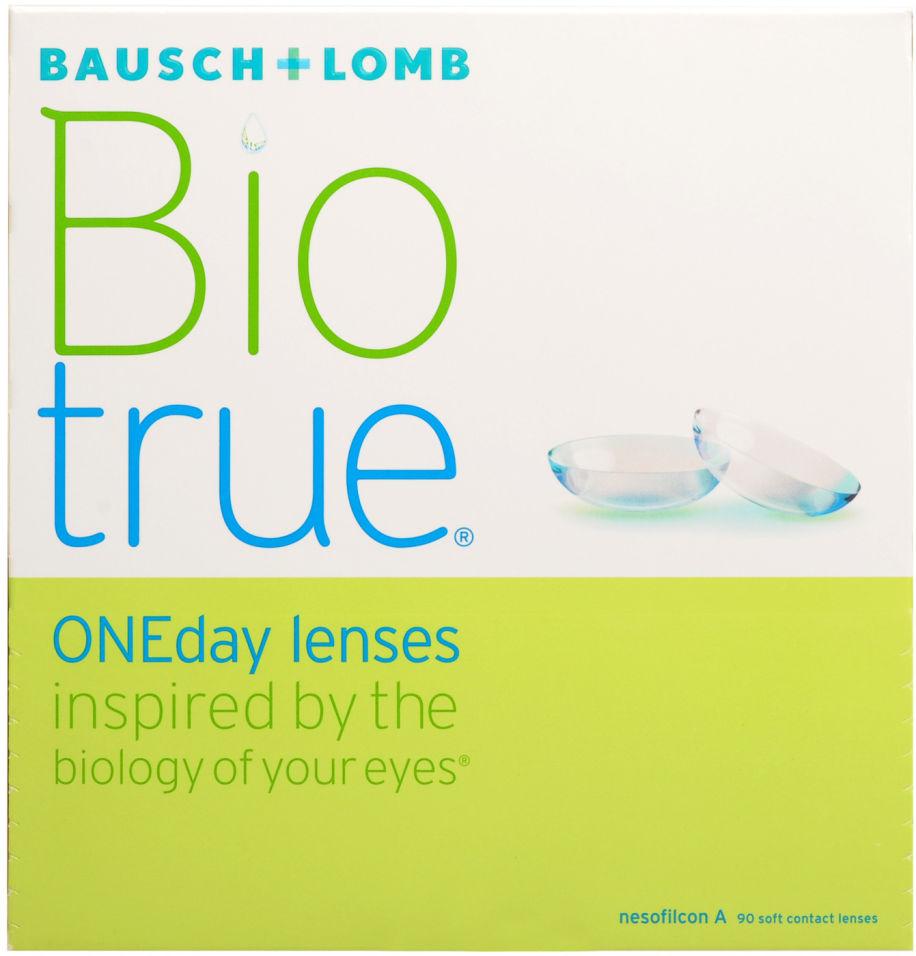 Контактные линзы Biotrue ONEday Однодневные -1.00/14.2/8.6 90шт