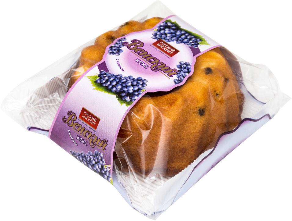 Кекс Русский бисквит Венский с изюмом 350г