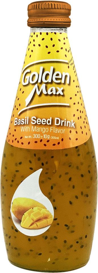 Напиток Golden Max со вкусом Манго и семенами базилика 300г