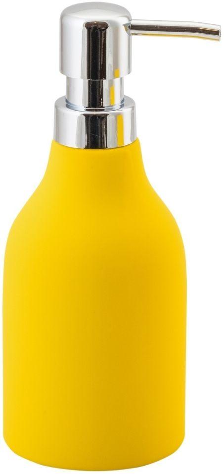 Дозатор для жидкого мыла Аквадекор Unna желтый
