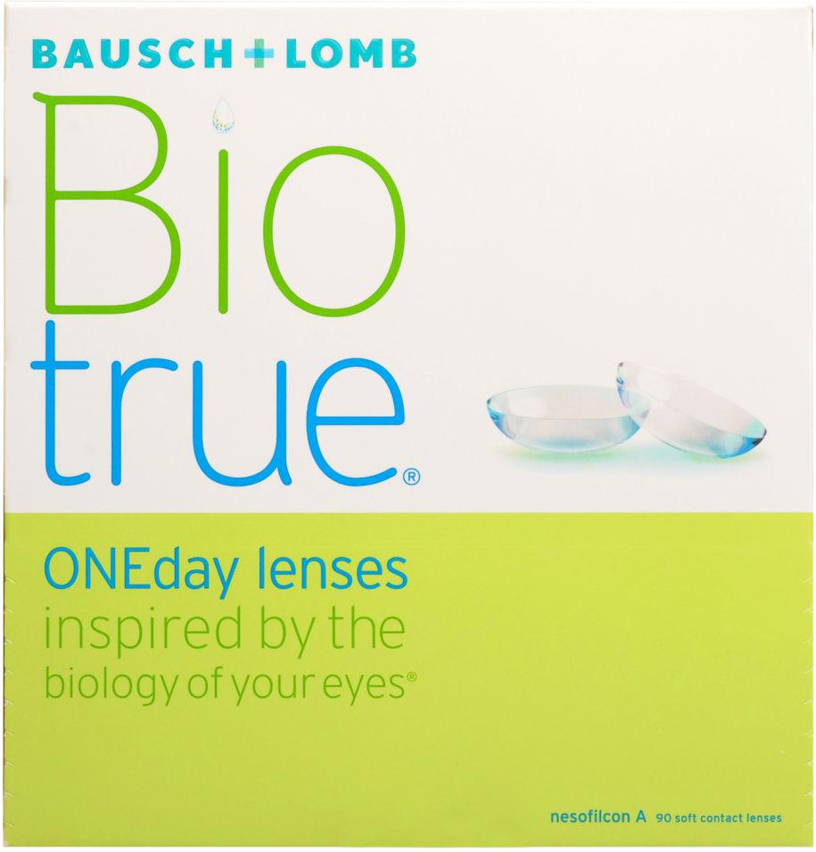 Контактные линзы Biotrue ONEday Однодневные -4.00/14.2/8.6 90шт