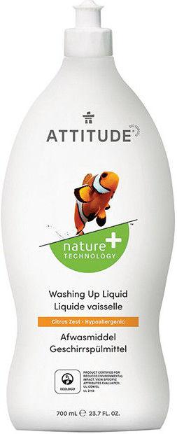 Средство для мытья посуды Attitude Цитрус 700мл