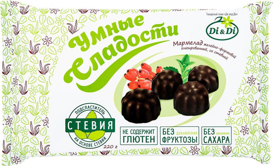Мармелад Умные сладости Барбарис глазированный со стевией 220г