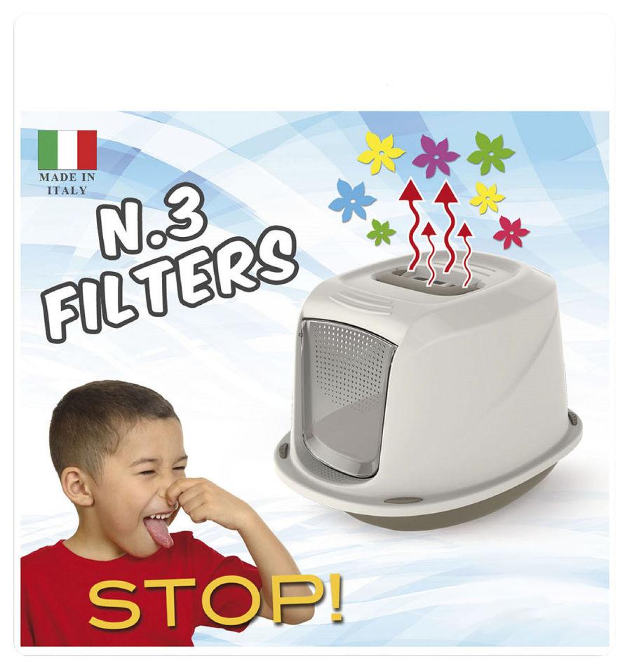Фильтры для кошачьего туалета Lili Pet 12*15.5 3шт