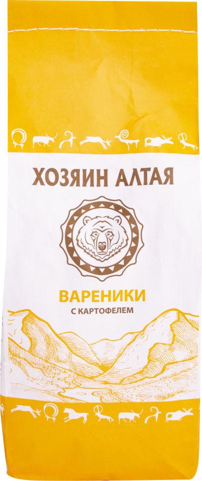 Вареники Хозяин Алтая с картофелем 800г