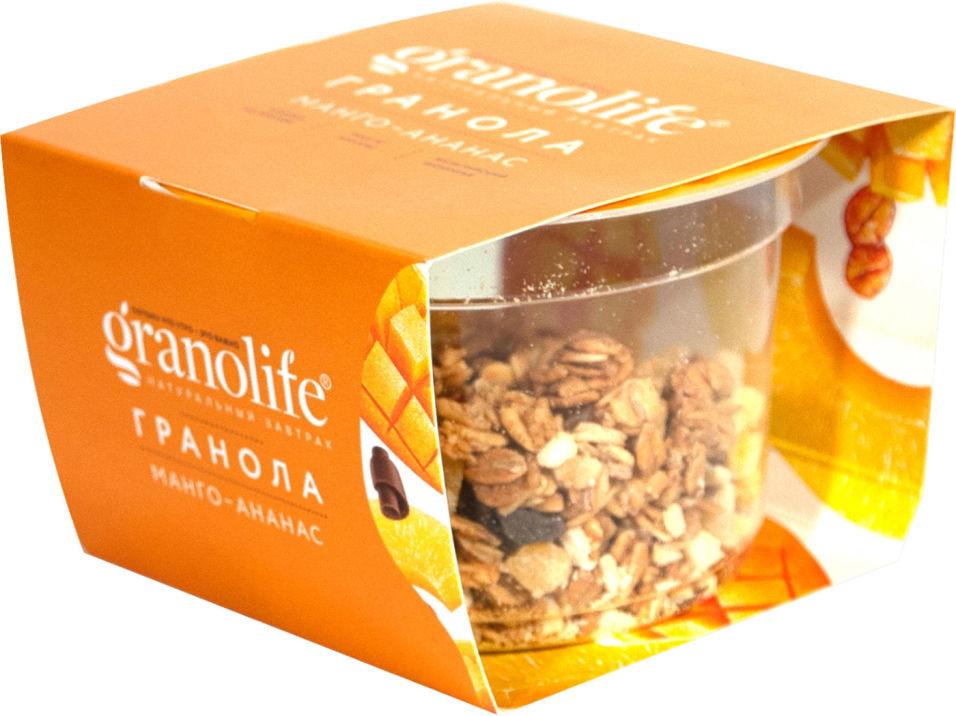 Гранола Granolife Манго-ананас 60г