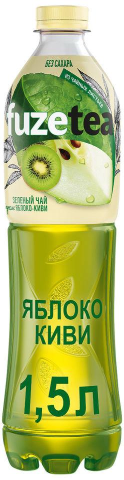 Чай зеленый Fuzetea Яблоко-киви 1.5л