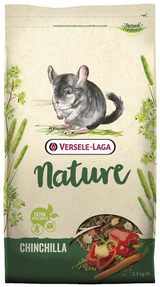 Корм для грызунов Versele-Laga Chinchilla Nature New Premium для шиншилл 2.3кг