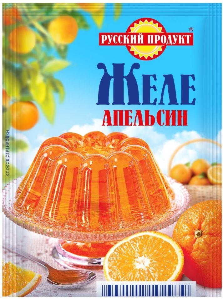 Желе Русский продукт Апельсин 50г