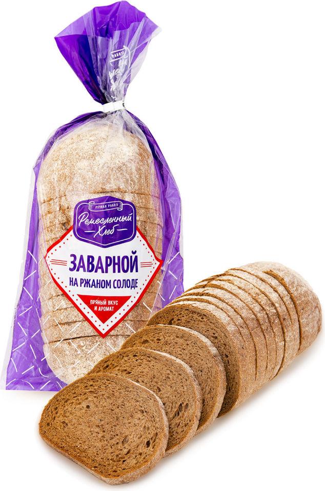 Хлеб Ремесленный хлеб заварной с ржаным солодом 350г