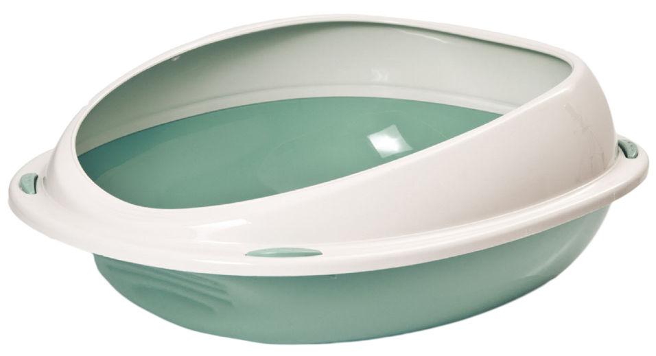 Туалет для кошек Lilli Pet 45*36*15.5см зеленый