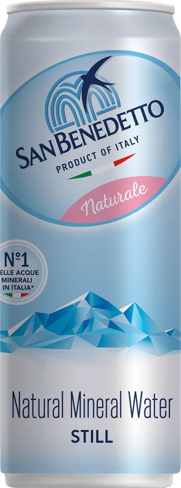 Вода San Benedetto Naturale минеральная негазированная 330мл