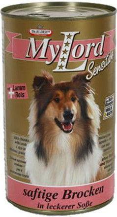 Корм для собак Dr.Alders My Lord Classic Sensitive Ягненок и рис 1.23кг