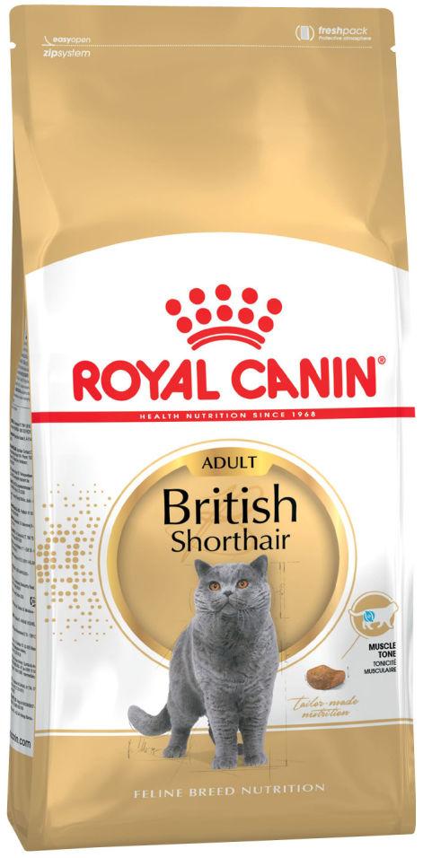 Сухой корм для кошек Royal Canin British Shorthair 34 Птица 400г