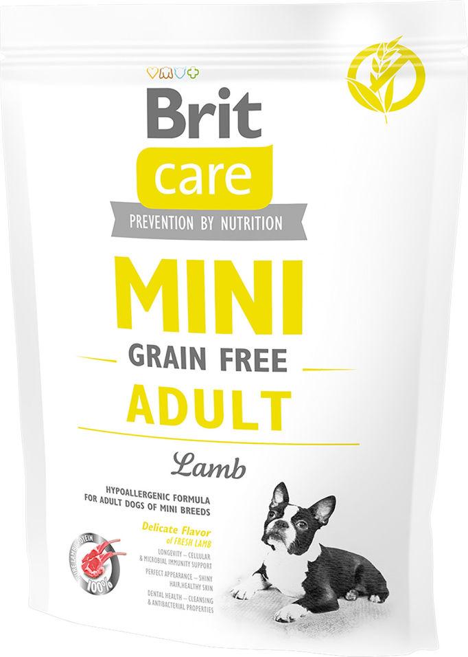Сухой корм для собак Brit Care Ягненок для маленьких пород 400г