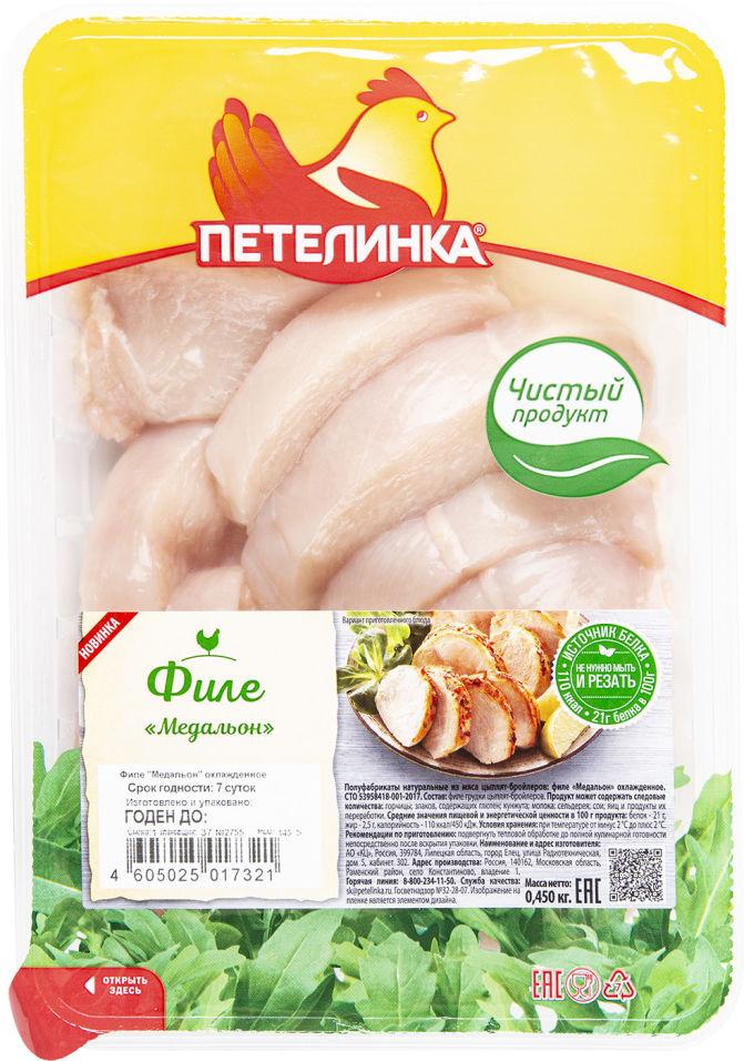 Отзывы о Медальоне Петелинка из мяса цыплят-бройлеров 450г