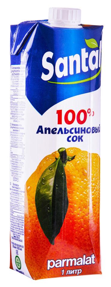 Сок Santal Апельсиновый 1л