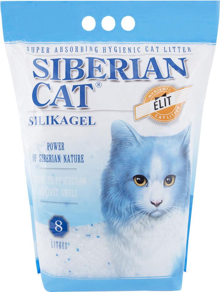 Отзывы о Наполнитель для кошачьего туалета Сибирская кошка Элита силикагель 8л
