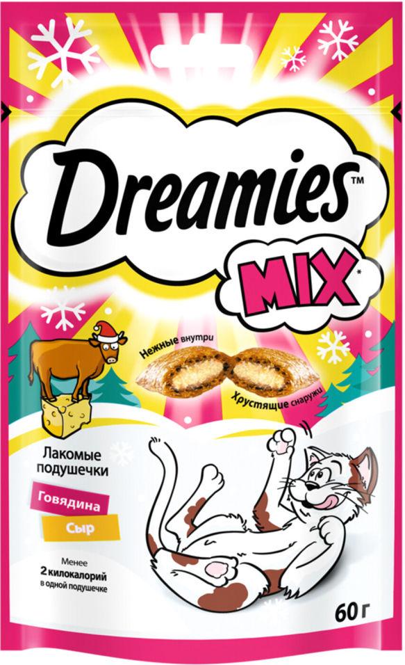 Лакомство для кошек Dreamies с говядиной и сыром 60г