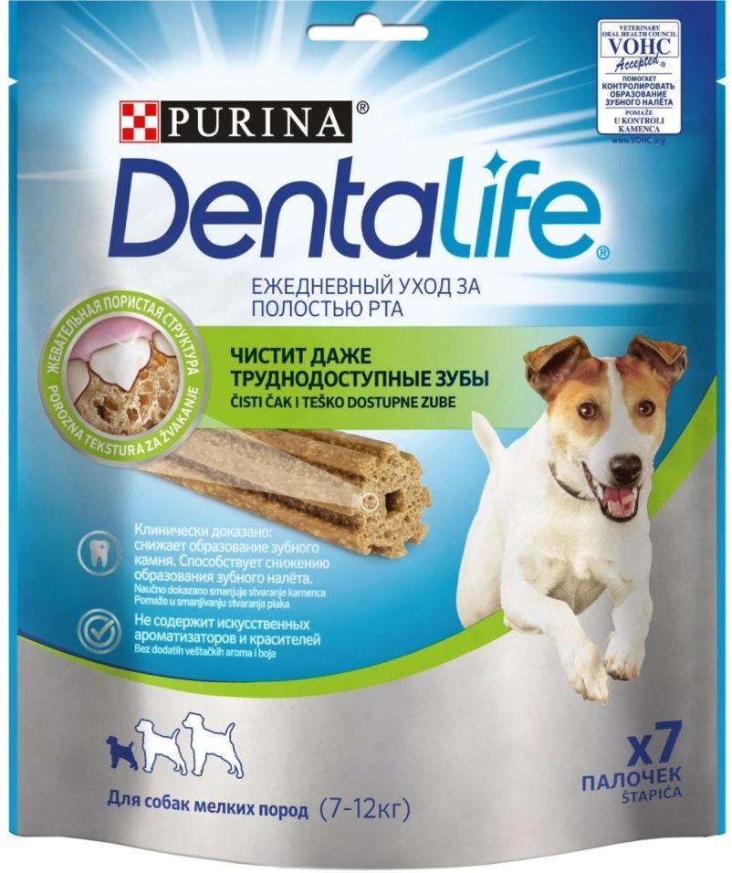 Лакомство для собак DentaLife Small 115г