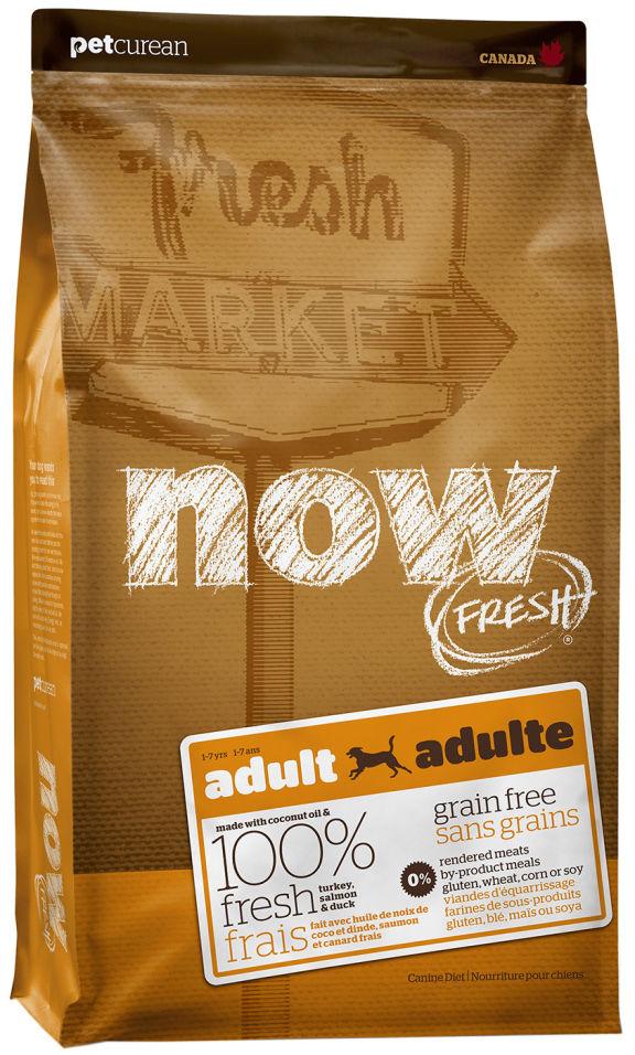 Отзывы о Сухом корме для собак Now Fresh Adult Беззерновой с индейкой уткой и овощами 2.72кг