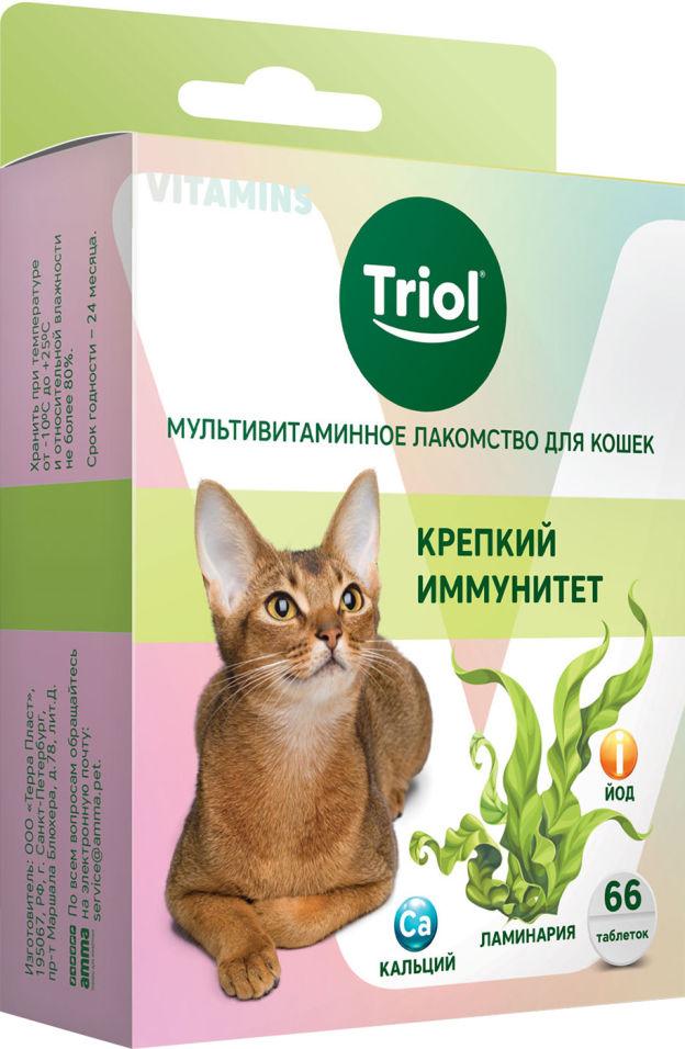 Отзывы о Лакомстве для кошек Triol Крепкий иммунитет 33г