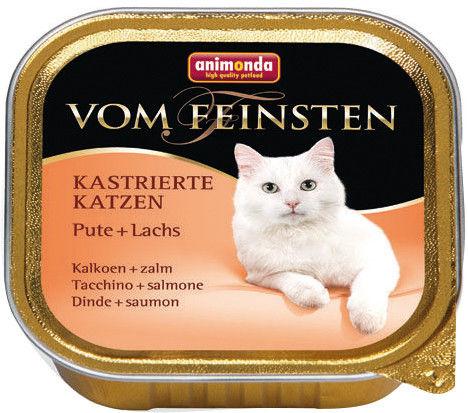 Корм для кошек Animonda Vom Feinsten Индейка лосось 100г