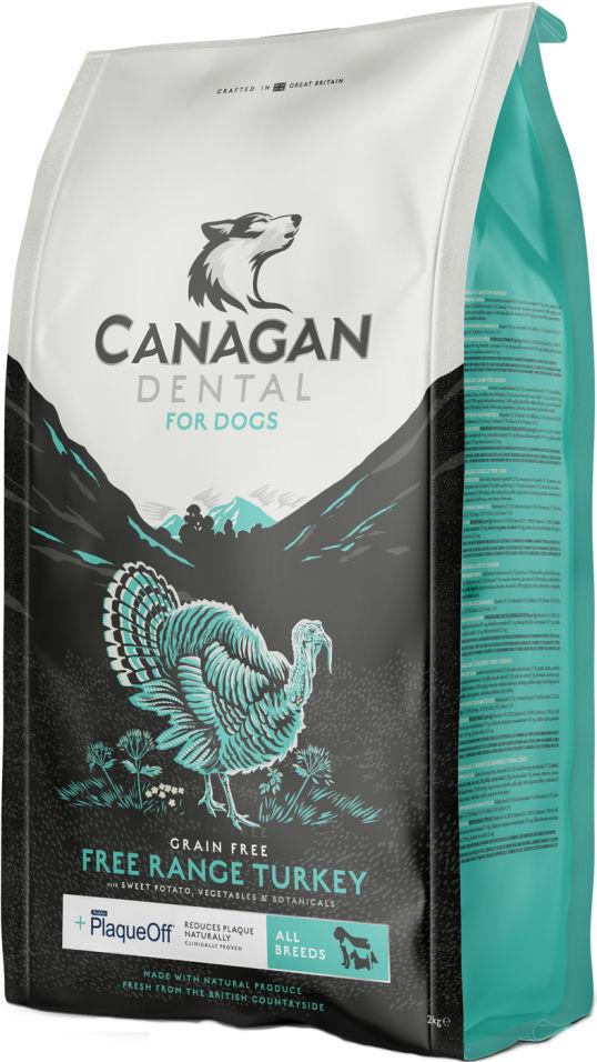 Сухой корм для собак Canagan Dental  для всех пород Индейка 12кг