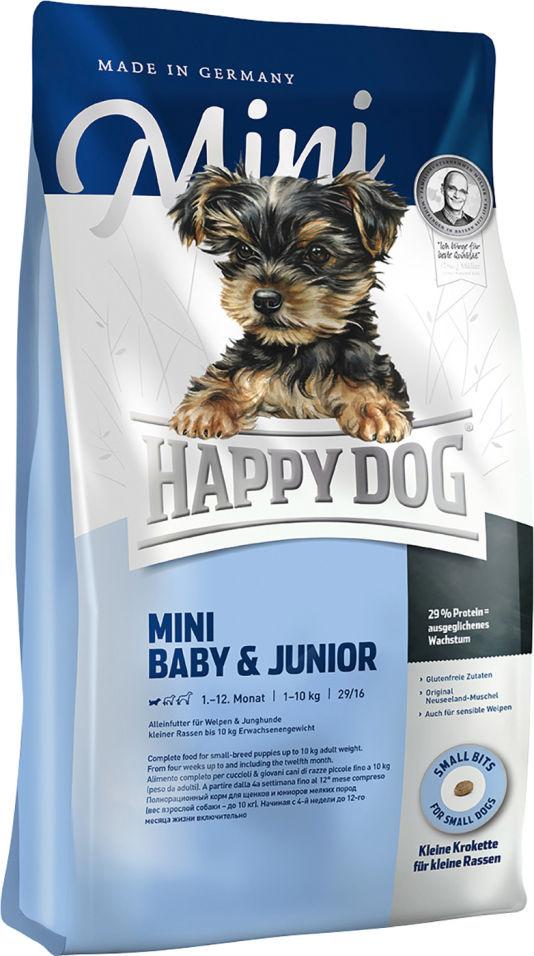 Сухой корм для щенков Happy Dog Baby&Junior 4кг