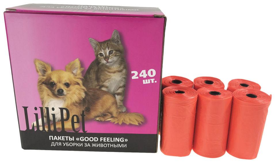 Отзывы о Пакеты для уборки за животными Lili Pet 16рул