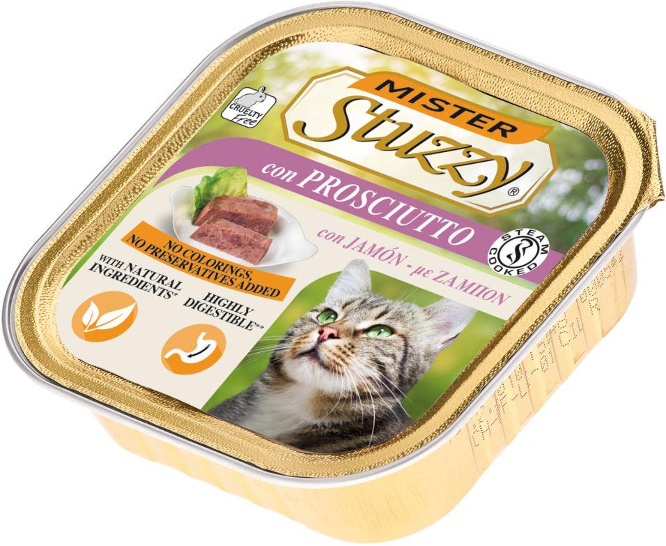 Корм для кошек Stuzzy Mister Cat с ветчиной 100г