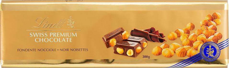 Отзывы о Шоколаде Lindt Темном с цельным обжаренным фундуком 300г
