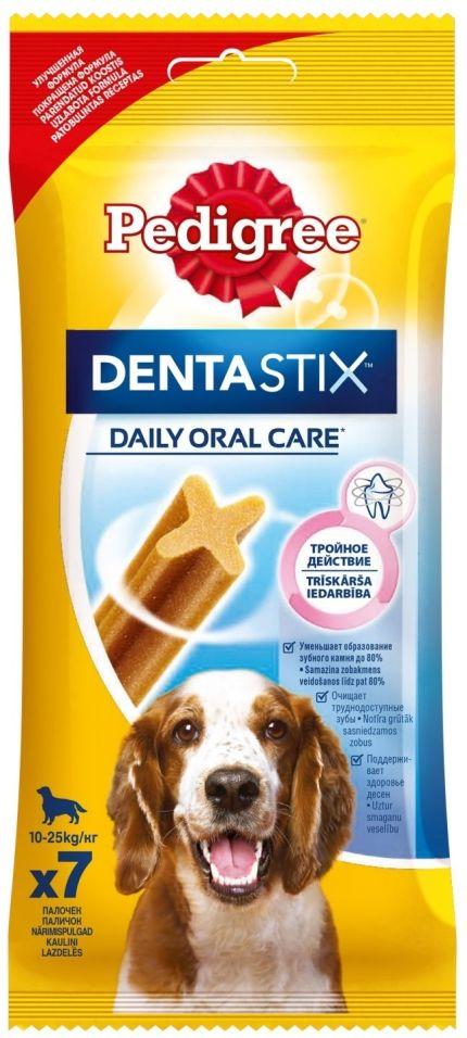 Лакомство для собак Pedigree Dentastix для ухода за зубами 180г