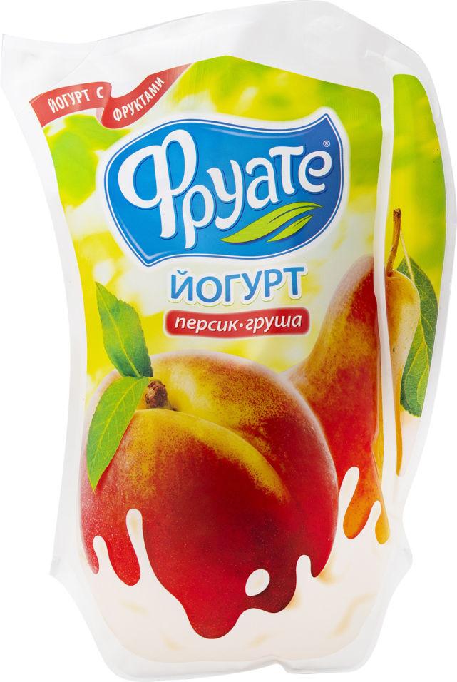 Отзывы о Йогурте питьевом Фруате Персик-груша 1.5% 950г