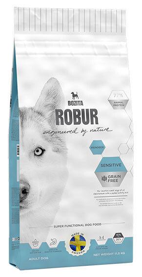 Отзывы о Сухом корме для собак Bozita Robur Sensitive Grain Free с оленем 11.5кг