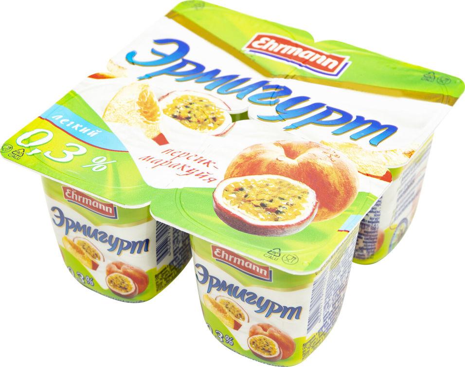 Отзывы о Продукте йогуртном Эрмигурт Персик-Маракуйя 0.3% 100г