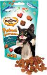 Лакомство для кошек Мнямс Рыбный фестиваль лосось креветки форель 50г