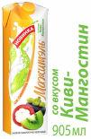 Напиток сывороточно-молочный Мажитэль со вкусом Киви-Мангостин 950г
