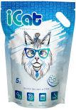 Наполнитель iCat Snow Flakes силикагелевый 5л