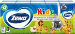Носовые Платки Zewa Kids детские 3 слоя 10*10шт