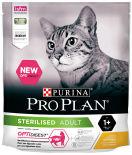 Сухой корм для стерилизованных кошек Pro Plan Optidigest Sterilised с курицей 400г