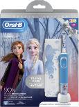 Подарочный набор Oral-B Frozen kids Электрическая зубная щетка с зарядным устройством